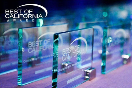 Best of California Awards 2020, image courtesy of Government Technology Magazine