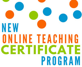 @ONE offers new online teaching certificate program.