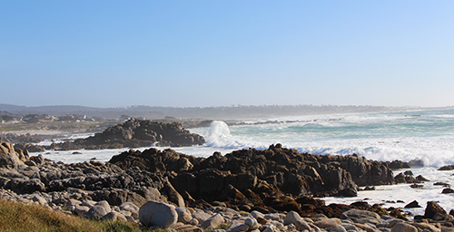 CISOA-3CBG 2017 was held at the Hyatt Regency Monterey, March 26-29. The weather was exceptional allowing for scenes like this wave cresting on the rocks, Asilomar State Marine Reserve, Monterey Bay.