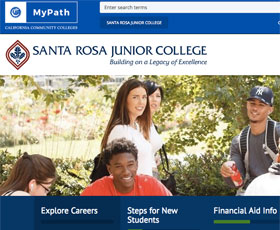 Santa Rosa Junior College is one of the first to offer CCC MyPath, a Student Services Portal developed by the Education Planning Initiative.