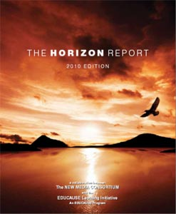 Cover of the 2010 Horizon Report