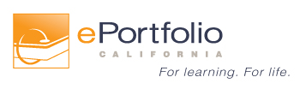 ePortfolio California logo. For learning. For life.